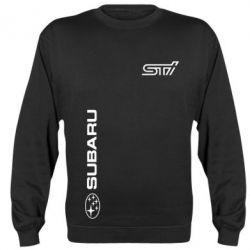 Реглан (свитшот) Subaru STI Logo - FatLine