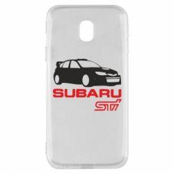Чехол для Samsung J3 2017 Subaru STI