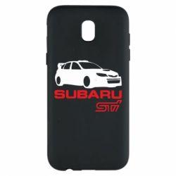 Чехол для Samsung J5 2017 Subaru STI