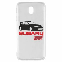 Чехол для Samsung J7 2017 Subaru STI