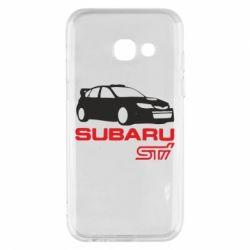 Чехол для Samsung A3 2017 Subaru STI