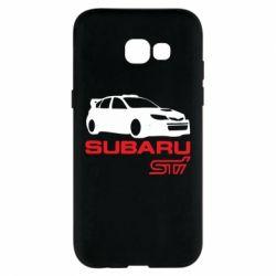 Чехол для Samsung A5 2017 Subaru STI
