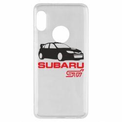 Чехол для Xiaomi Redmi Note 5 Subaru STI