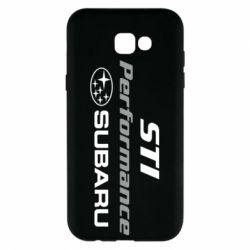 Чехол для Samsung A7 2017 Subaru STI