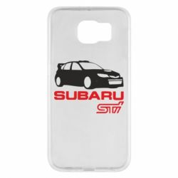 Чехол для Samsung S6 Subaru STI