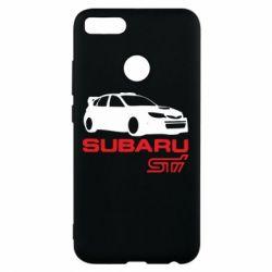 Чехол для Xiaomi Mi A1 Subaru STI