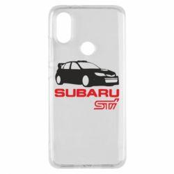 Чехол для Xiaomi Mi A2 Subaru STI
