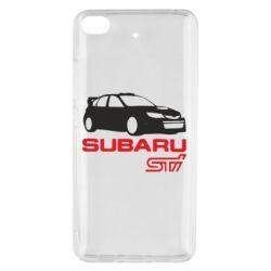 Чехол для Xiaomi Mi 5s Subaru STI