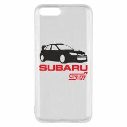 Чехол для Xiaomi Mi6 Subaru STI