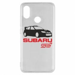 Чехол для Xiaomi Mi8 Subaru STI