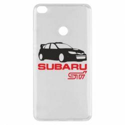 Чехол для Xiaomi Mi Max 2 Subaru STI