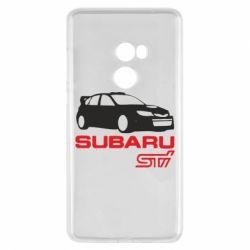Чехол для Xiaomi Mi Mix 2 Subaru STI
