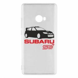 Чехол для Xiaomi Mi Note 2 Subaru STI