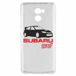 Чехол для Xiaomi Redmi 4 Subaru STI