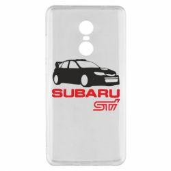 Чехол для Xiaomi Redmi Note 4x Subaru STI