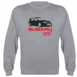 Реглан (свитшот) Subaru STI - FatLine