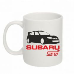 Кружка 320ml Subaru STI - FatLine