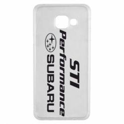 Чехол для Samsung A3 2016 Subaru STI