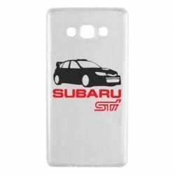 Чехол для Samsung A7 2015 Subaru STI