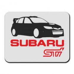 Коврик для мыши Subaru STI - FatLine