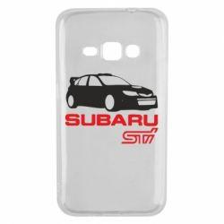 Чехол для Samsung J1 2016 Subaru STI