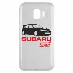 Чехол для Samsung J2 2018 Subaru STI