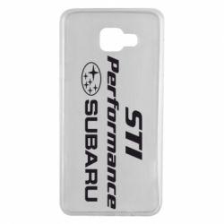 Чохол для Samsung A7 2016 Subaru STI
