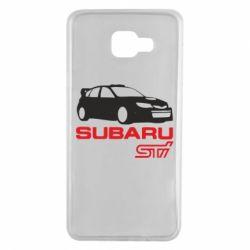Чехол для Samsung A7 2016 Subaru STI