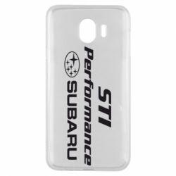 Чехол для Samsung J4 Subaru STI