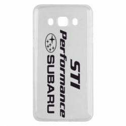 Чехол для Samsung J5 2016 Subaru STI