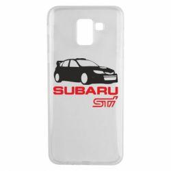 Чехол для Samsung J6 Subaru STI