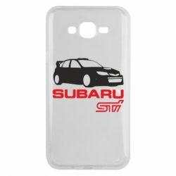 Чехол для Samsung J7 2015 Subaru STI