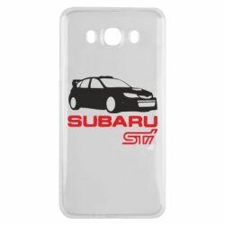 Чехол для Samsung J7 2016 Subaru STI