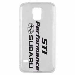Чехол для Samsung S5 Subaru STI