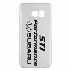 Чехол для Samsung S6 EDGE Subaru STI