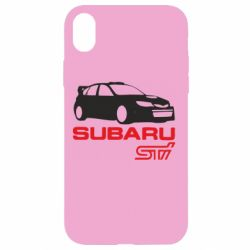 Чохол для iPhone XR Subaru STI