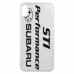 Чохол для iPhone Xs Max Subaru STI