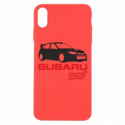 Чехол для iPhone Xs Max Subaru STI