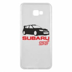 Чехол для Samsung J4 Plus 2018 Subaru STI