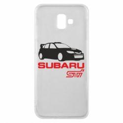 Чехол для Samsung J6 Plus 2018 Subaru STI