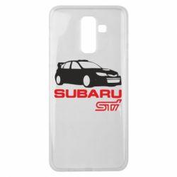Чехол для Samsung J8 2018 Subaru STI