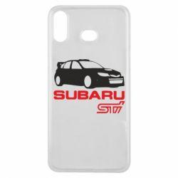 Чехол для Samsung A6s Subaru STI