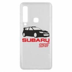 Чехол для Samsung A9 2018 Subaru STI
