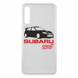 Чехол для Samsung A7 2018 Subaru STI