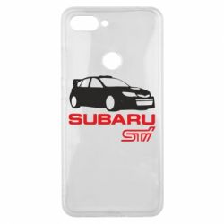Чехол для Xiaomi Mi8 Lite Subaru STI