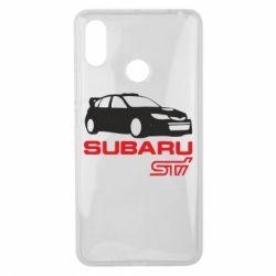 Чехол для Xiaomi Mi Max 3 Subaru STI