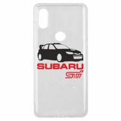 Чехол для Xiaomi Mi Mix 3 Subaru STI