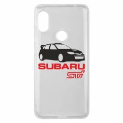 Чехол для Xiaomi Redmi Note 6 Pro Subaru STI