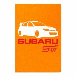 Блокнот А5 Subaru STI