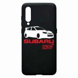 Чехол для Xiaomi Mi9 Subaru STI
